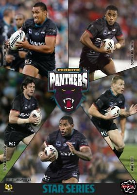NRL PENRITH PANTHERS POSTER Star Series Rugby NEW RARE