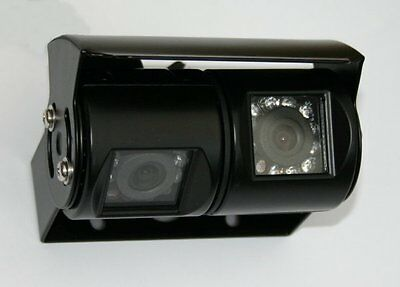 Double CCD Twin Colour Rear View cameras in BLACK casing
