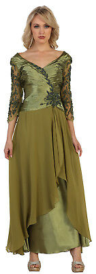 ! Sale ! Plus Size Dresses Formal Evening Mother Of The Bride Gown New Years Eve