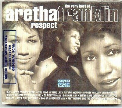 Aretha Franklin Very Best 43 Songs Greatest Hits 2 Cd