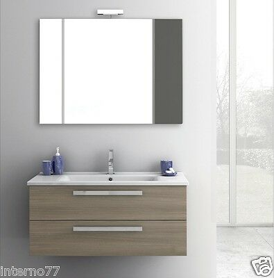 Mobile Bagno Federica 105 Noce New Pictures to pin on ...