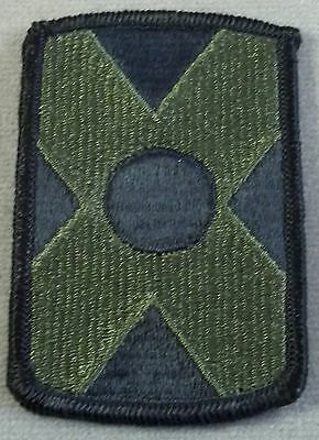 US Army 479th Artillery Brigade Subdued Merrowed Edge Patch