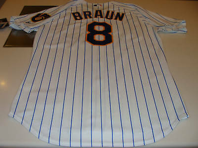 Milwaukee Brewers Ryan Braun Pro Jersey 44 Baseball MLB