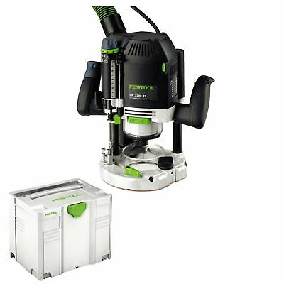 Festool Oberfräse Of 2200 Eb-Plus 574349 Inkl. Systainer Sys 4 T-Loc