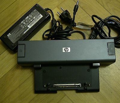 HP Elitebook 8530p Compaq 8510w 8710w Basic 2008 Docking Station Port Replicator