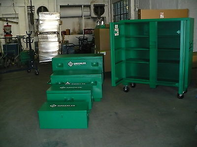 Greenlee 2448 Tool Chest W/ Casters ( New )