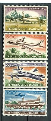 AEREI - PLANES DAHOMEY 1963 Air Mail Stamps