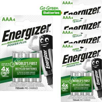 20x Energizer AAA Rechargeable Batteries 700 mAh NiMH LR03 HR03 Dect Phone Solar