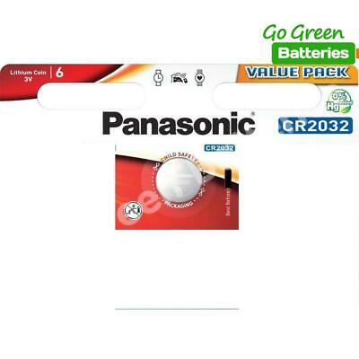 1 x Panasonic CR2032 3V Lithium Coin Cell Battery 2032