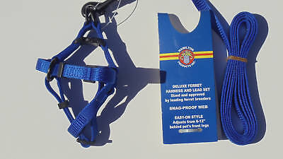 Hamilton Ferret Harness and Lead Easy Clasp System