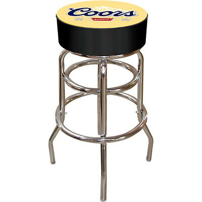 New Coors Banquet Beer Padded Metal Bar Stool Furniture