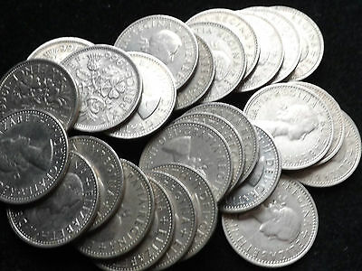 Grab Yourself A Lucky Sixpence Coin Very Cheap