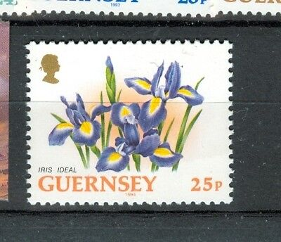 FIORI - FLOWERS GUERNSEY 1994  Common Stamp