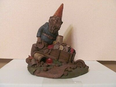 """Tom Clark 8"""" Gnome Taylor Hand Signed 1985"""