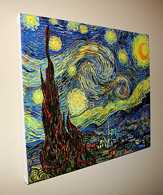 van Gogh Starry Night - Stretched Giclee Canvas Art