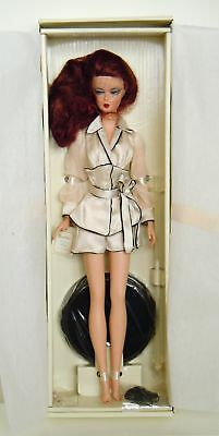 SUITE RETREAT Red Head Silkstone 2005 BFMC Barbie GOLD LBL_G8078_NRFB