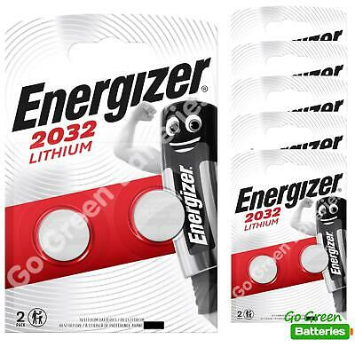 12 x Energizer CR2032 3V Lithium Coin Cell Battery 2032, DL2032, BR2032, SB-T15
