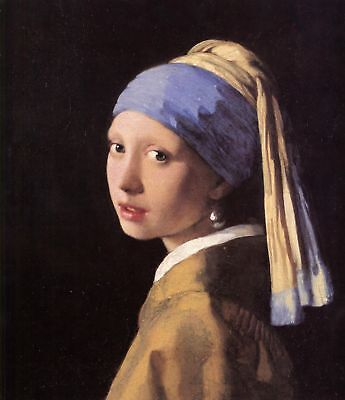 Vermeer THE GIRL WITH A PEARL EARRING - Giclee Canvas