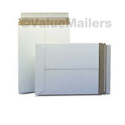 100 MAILERS 50 Each 9x11.5, 6X8 PHOTO STAY FLATS