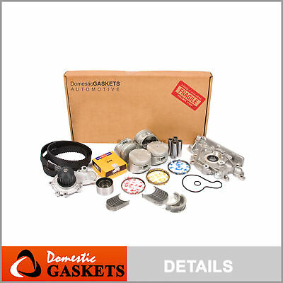 96-99 Plymouth Breeze Dodge Neon Stratus 2.0L SOHC Overhaul Engine Rebuild Kit
