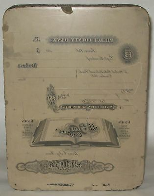 Lithograph Printing Stone 1900's Multiple Companies