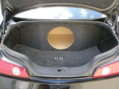 "ZEnclosures Subwoofer Box for the Infiniti G35 Coupe 1-12"" Speaker Box G35 New!"