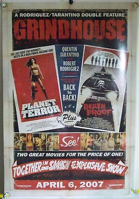 Grindhouse Ds Rolled Orig 1Sh Movie Poster Quentin Tarantino Kurt Russell (2007)
