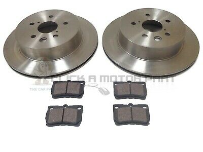 Genuine QH Front And Rear Vented Brake Discs Pa Fit DS VW Transporter T5 1.9 2.5