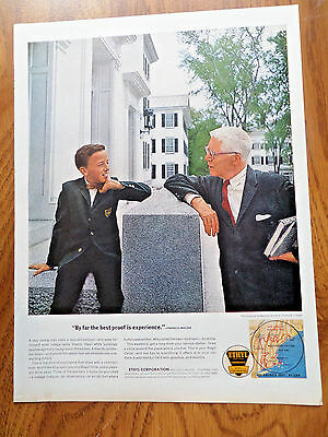 1963 Ethyl Gasoline Ad Dartmouth College