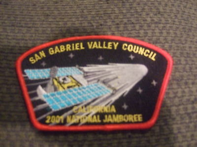 MINT 2001 JSP San Gabriel Valley Council Red Border