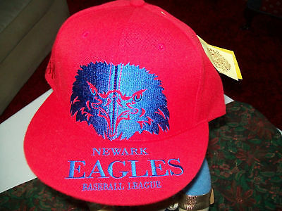 Newark Eagles Baseball League Flat Bill Brim Hat Cap Stall & Dean Fitted 7 1/2