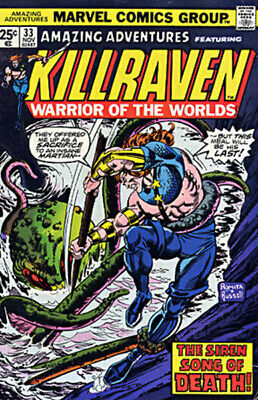 AMAZING ADVENTURES 33 Killraven War Of Worlds Trimpe
