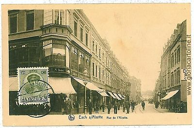 VINTAGE POSTCARD: LUXEMBOURG City - 1903