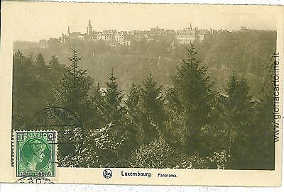 VINTAGE POSTCARD: LUXEMBOURG City