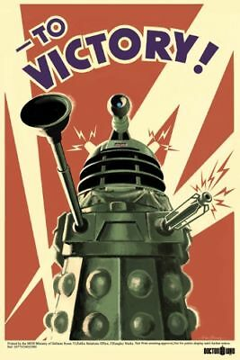 DOCTOR WHO POSTER Dalek To Victory 61x91cm dr BRAND NEW