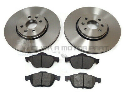 RENAULT GRAND SCENIC 1.5 1.9 2.0 DCi 2004-2008 FRONT 2 BRAKE DISCS AND PADS NEW