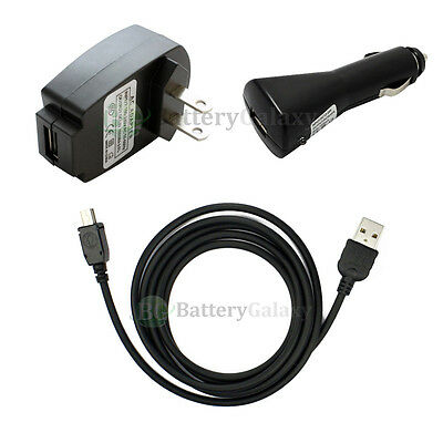 Car+AC Charger+USB Accessory For TomTom One XL XL-S XLS