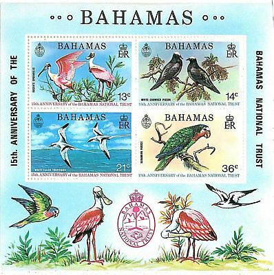Stamps - Bahamas : 1974 Birds