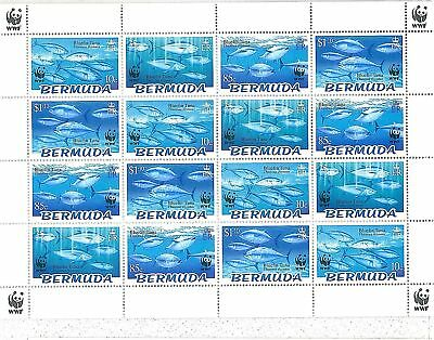 Stamps - Bermuda 2004 Wwf - Fish - Full Sheet