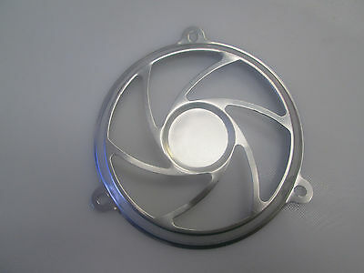 150cc Gas Scooter Fan Decoration Cover in SILVER 125QMI,157QMJ GY6 Engines