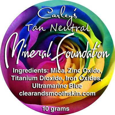 Mineral Foundation for Acne prone skin
