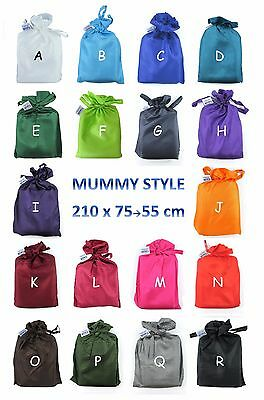 TREKSILK  Mummy Single Silk Sleeping Bag Liner Sack Travel Sleep Sheet Backpack