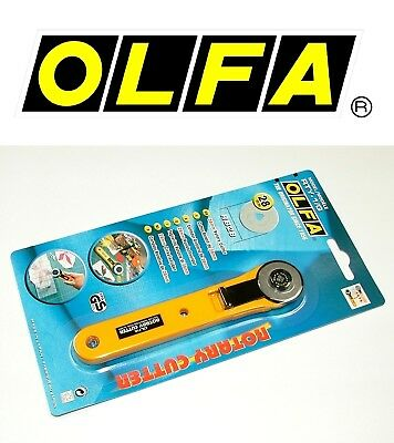 Olfa Rotary Cutter 28mm RTY-1/G  - Free Uk Postage