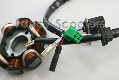 Stator A (8 coils and 5 Wires) for HAMMERHEAD 150CC ATV,Go-cart