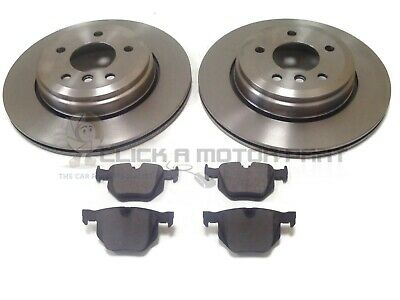 BMW E60 530 530i 03 Front Drilled Grooved Brake Discs 324mm