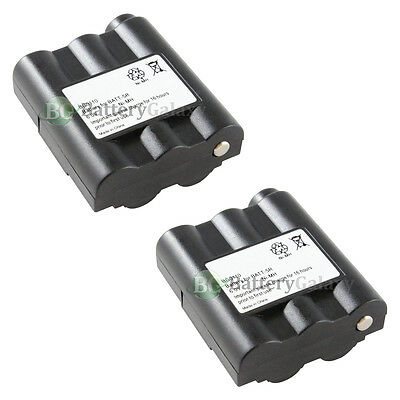2 Two-Way Radio Rechargeable Battery for Midland AVP-7 BATT5R BATT-5R 2,800+SOLD