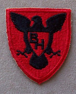 US Army 86th Infantry Division WW II Full Color Cut Edge Patch / NOS
