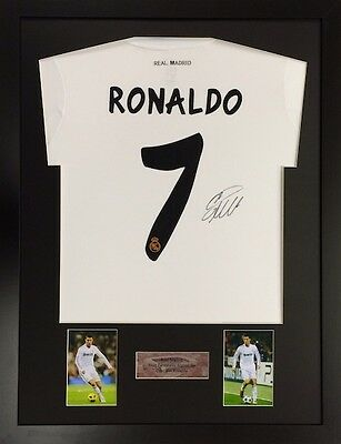 TS Frame For Signed Football Shirt  2 photos Portrait