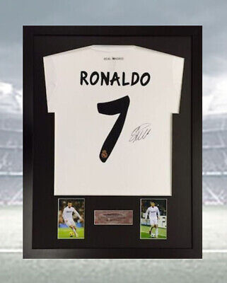 Frame for any signed football shirt plus any 2 photos