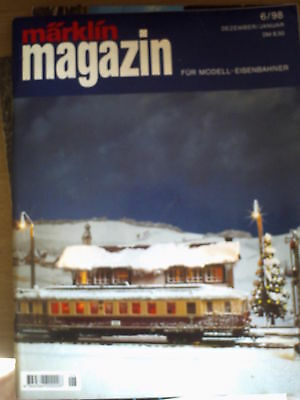 Marklin magazin 6/98 FRA - Construction d'un reseau